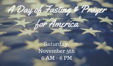 A Day of Fasting & Prayer