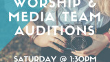 Worship Team Auditions!