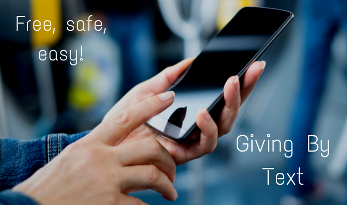 Giving By Text