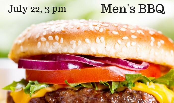 Men's BBQ – July 22