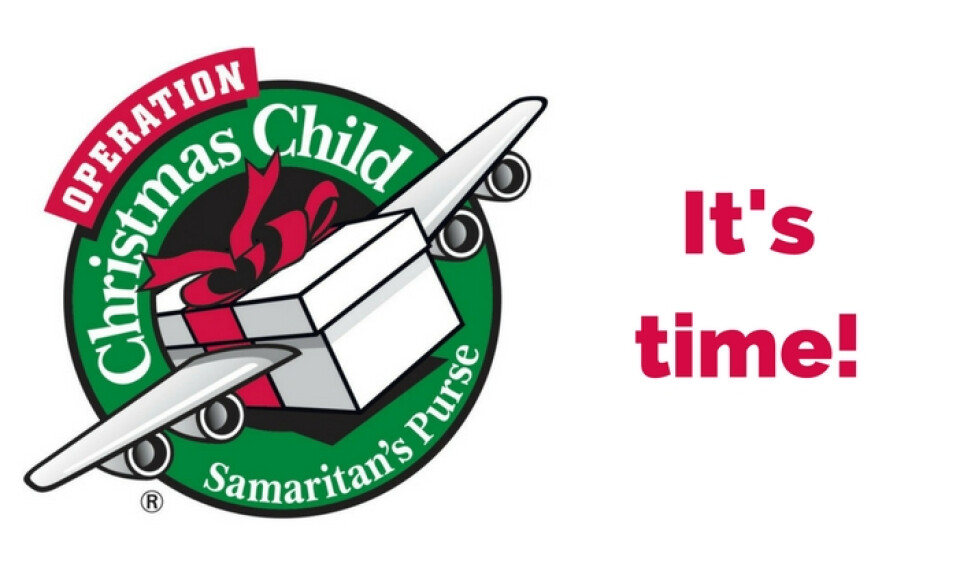 Last day for Christmas shoeboxes!