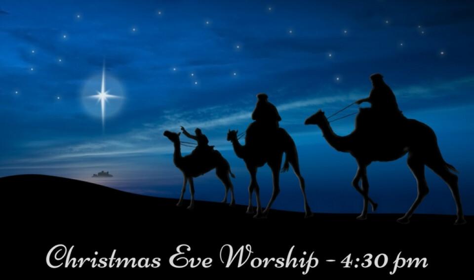 4:30 PM Christmas Eve Service