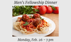 Men's Fellowship Dinner