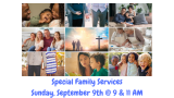A Great Sunday in our Family Services!