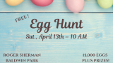 Egg Hunt coming up on April 13th!