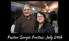 Pastor Sergio - 7/24