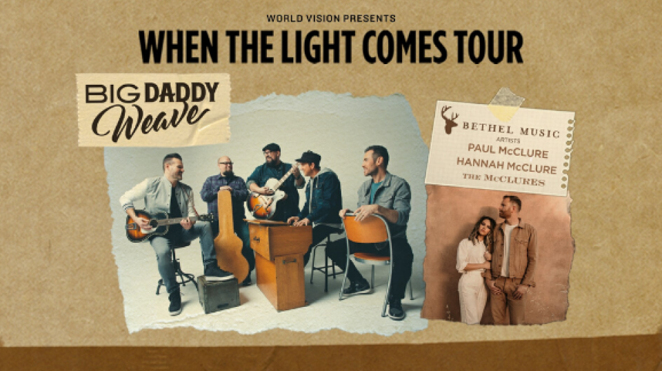 Big Daddy Weave & The McClures in Concert!