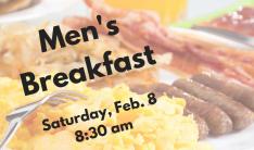 Men's Breakfast Feb 8